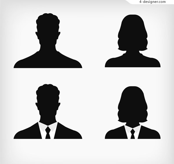 Portraits of business people