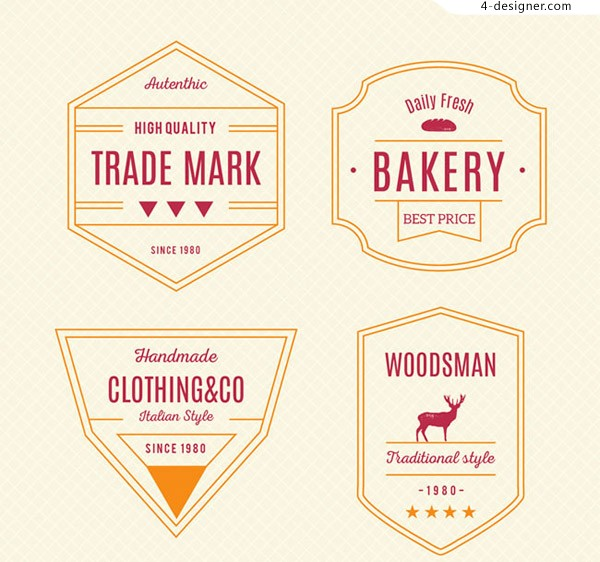 Product label vector
