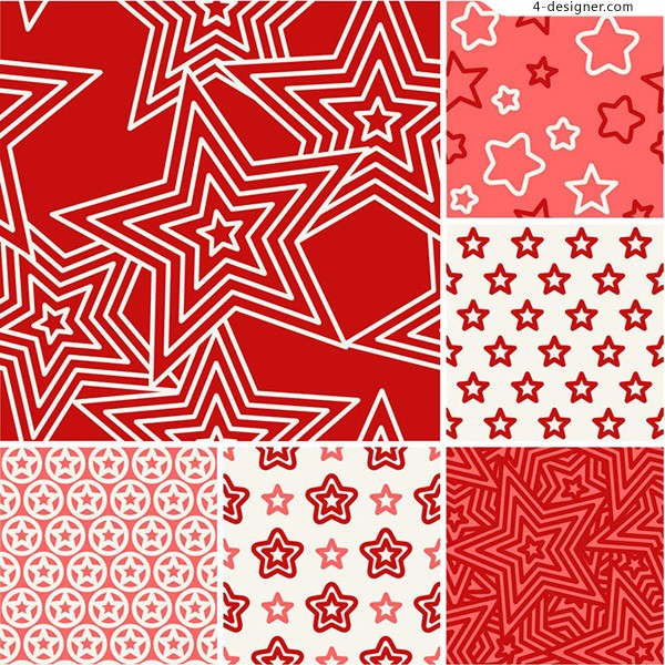 Red shading pattern