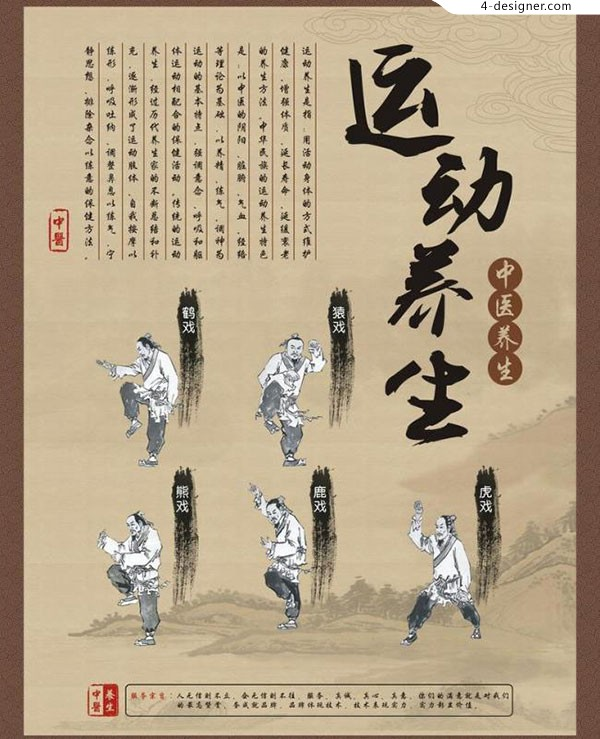 Traditional Chinese medicine health Poster