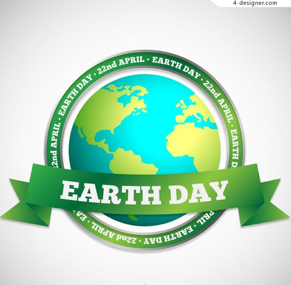 World Earth Day label