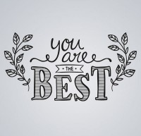 You are the best art word