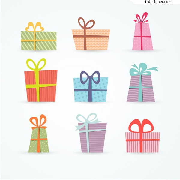 Color gift vector