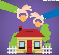 Housing provident fund illustration