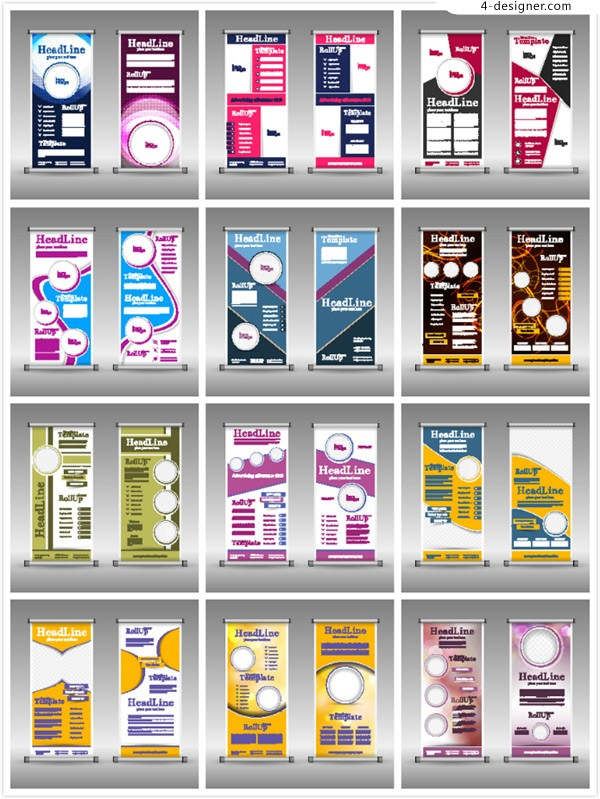 Business display template