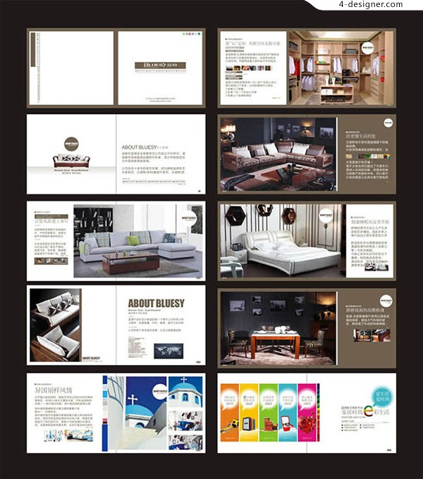 Furniture enterprise publicity album