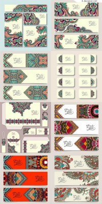 Hand painted traditional classical patterns