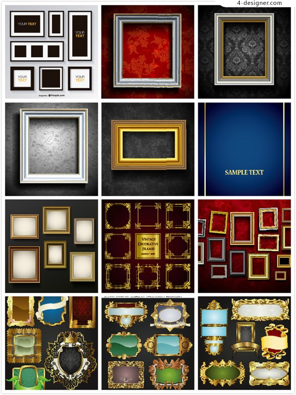Picture frame decoration painting