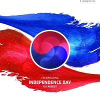 South Korea independence day background