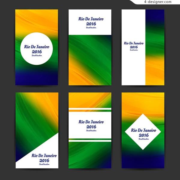 2016 cards from Rio