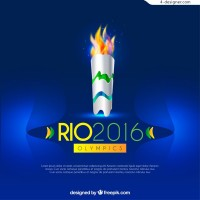 Brazil Olympic torch