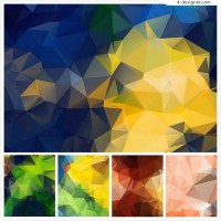 Dazzling geometric abstract background