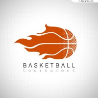 Flame basketball LOGO