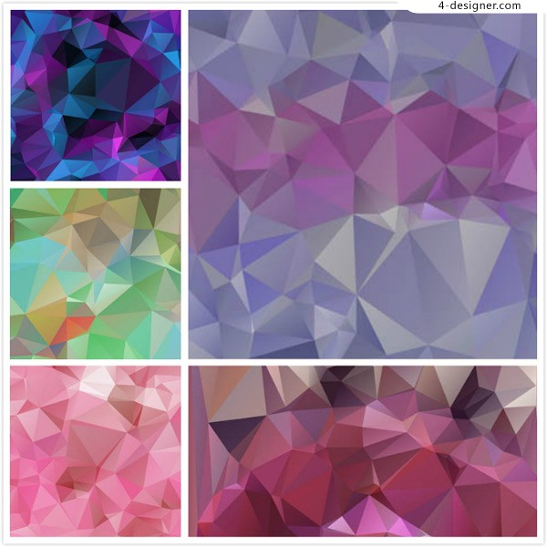 Geometric polygon background