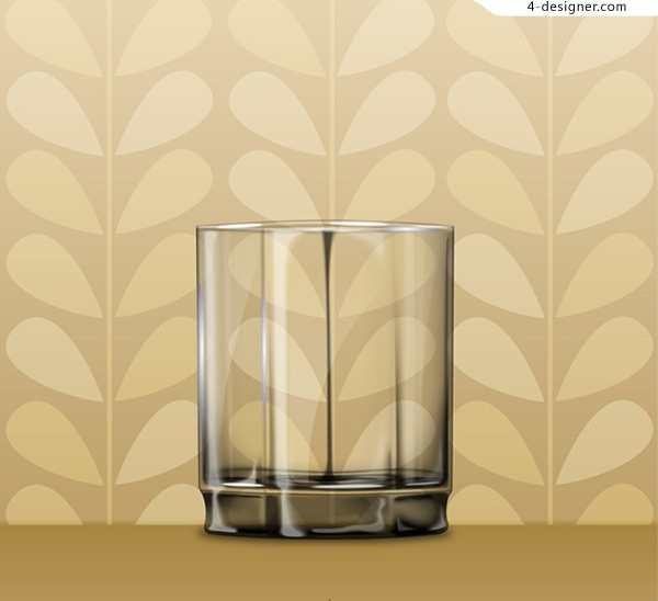 Glass cup wallpaper