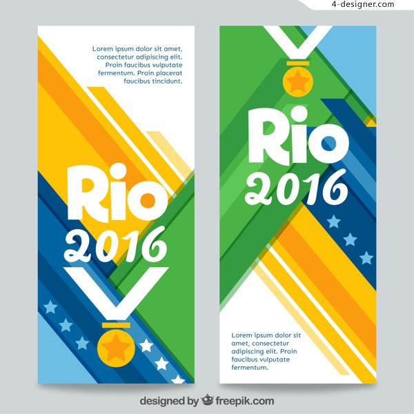 Rio 2016 banners
