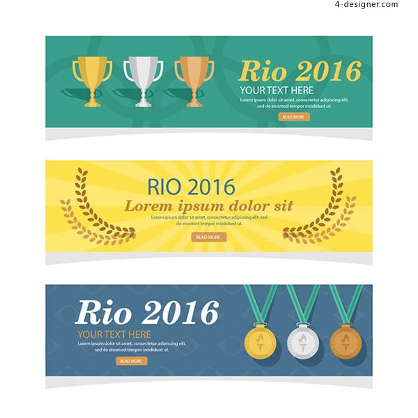 Rio Olympic banners