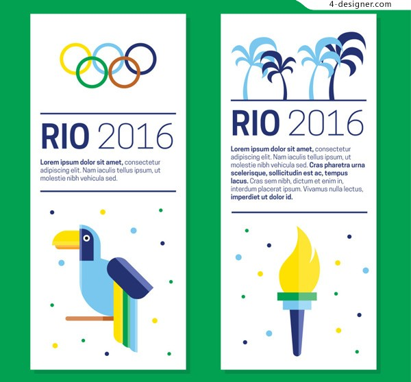 Rio Olympic cards