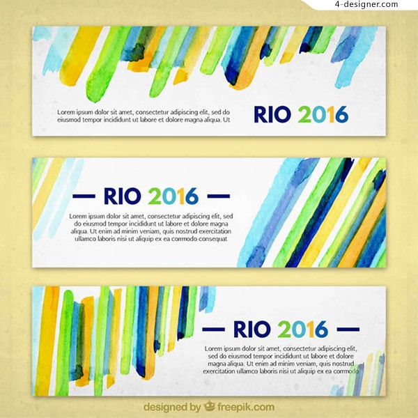 Rio Olympic posters