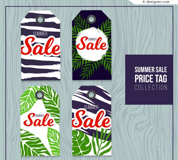 Summer tropical sales Tags