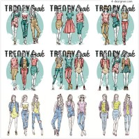 Trend women illustration