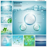 Water droplets and plant environmental protection