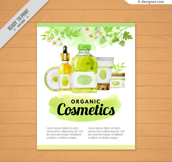 Watercolor cosmetics publicity list