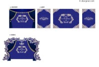Wedding layout renderings