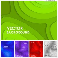 Abstract background of contour lines