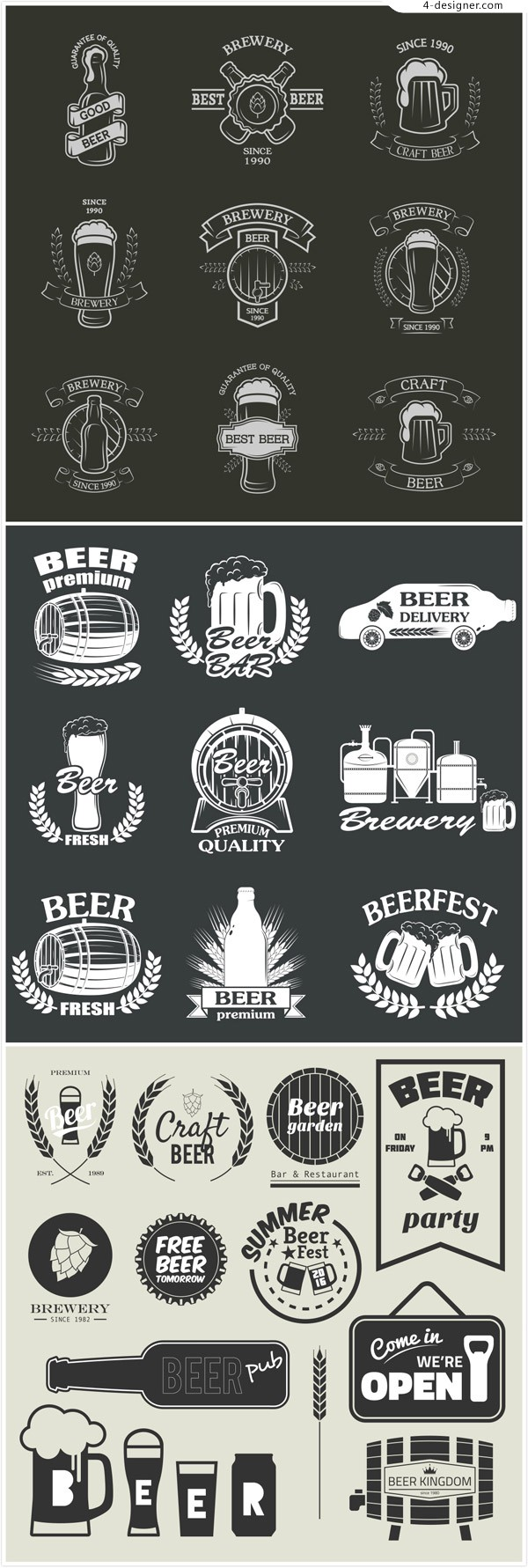 Beer icon Tags