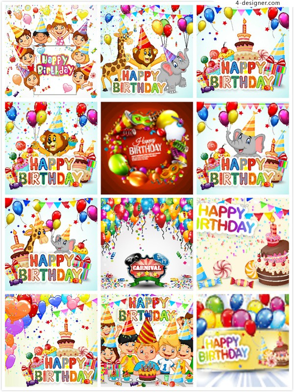 Birthday celebration ads