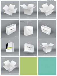 Blank packing template