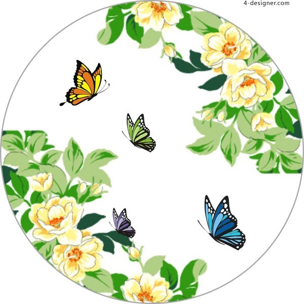 Butterfly Antique Design