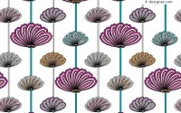 Classical abstract flower background