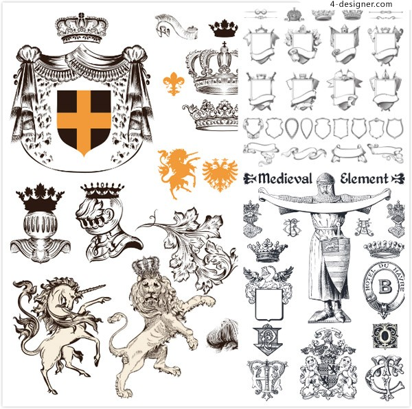 Classical medieval elements
