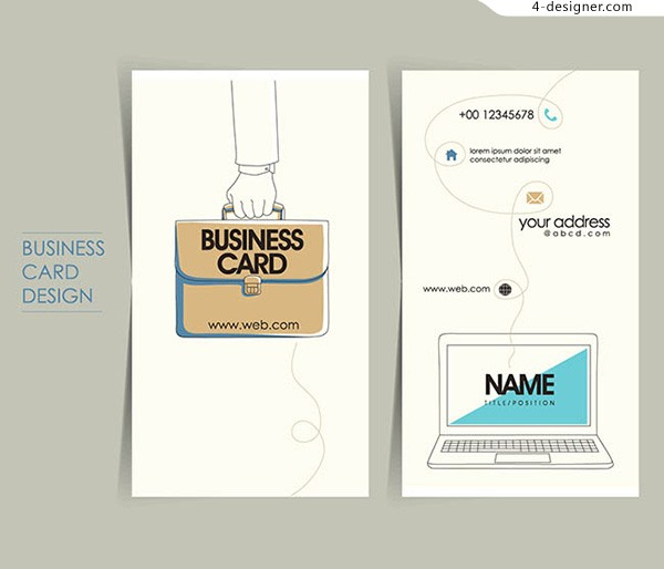 Computer personal card