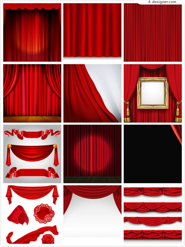 Curtain stage