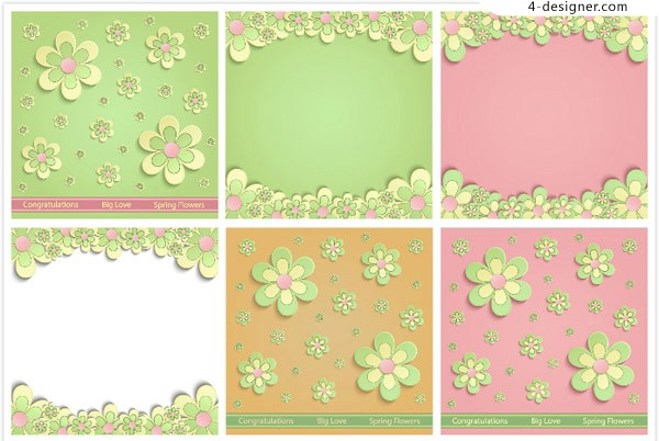 Flower decoration background