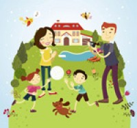 Four family outdoor activities