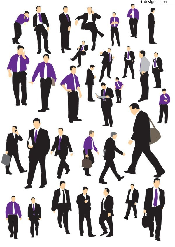 Male business person vector