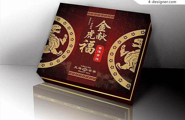 Pu er tea packaging