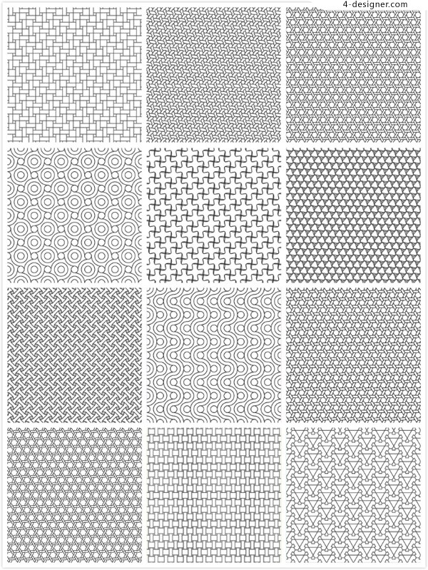 Seamless background shading pattern