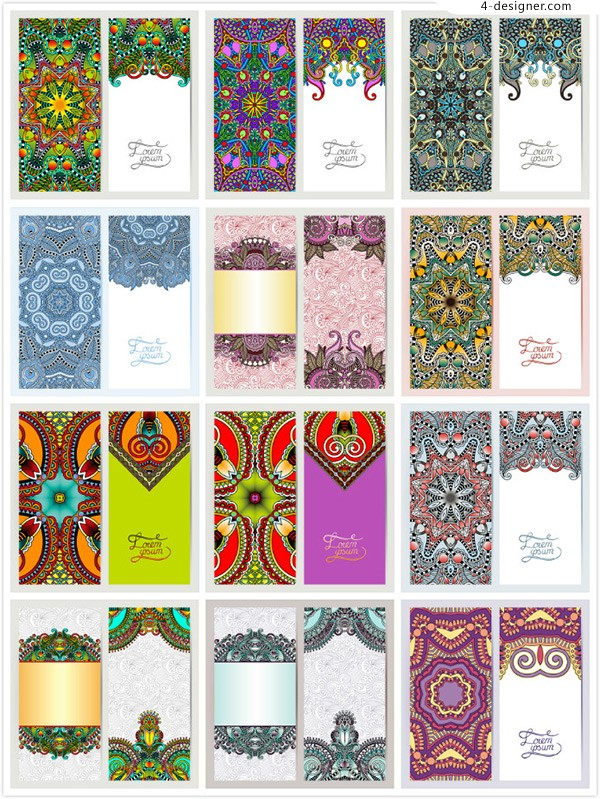 Traditional classical pattern background
