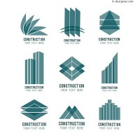 Abstract architectural symbol