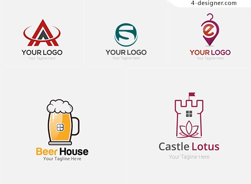 Beer and lotus logo