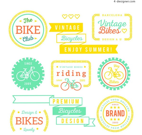 Bicycle sport label