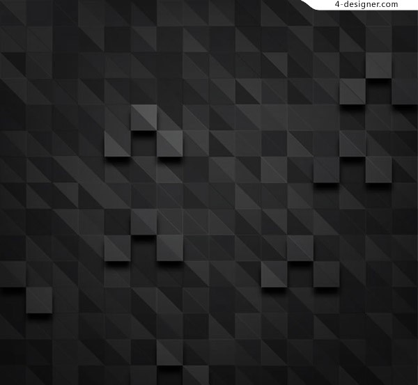 Black grid background