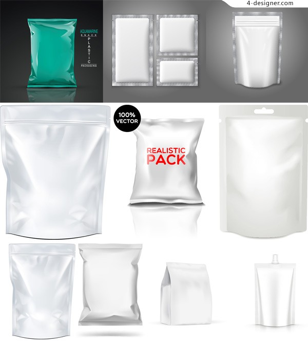 Blank product packaging