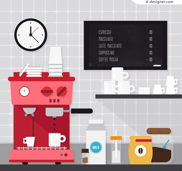 Coffee machines and cups