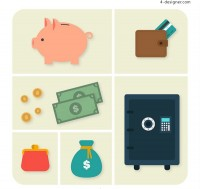 Financial element icon